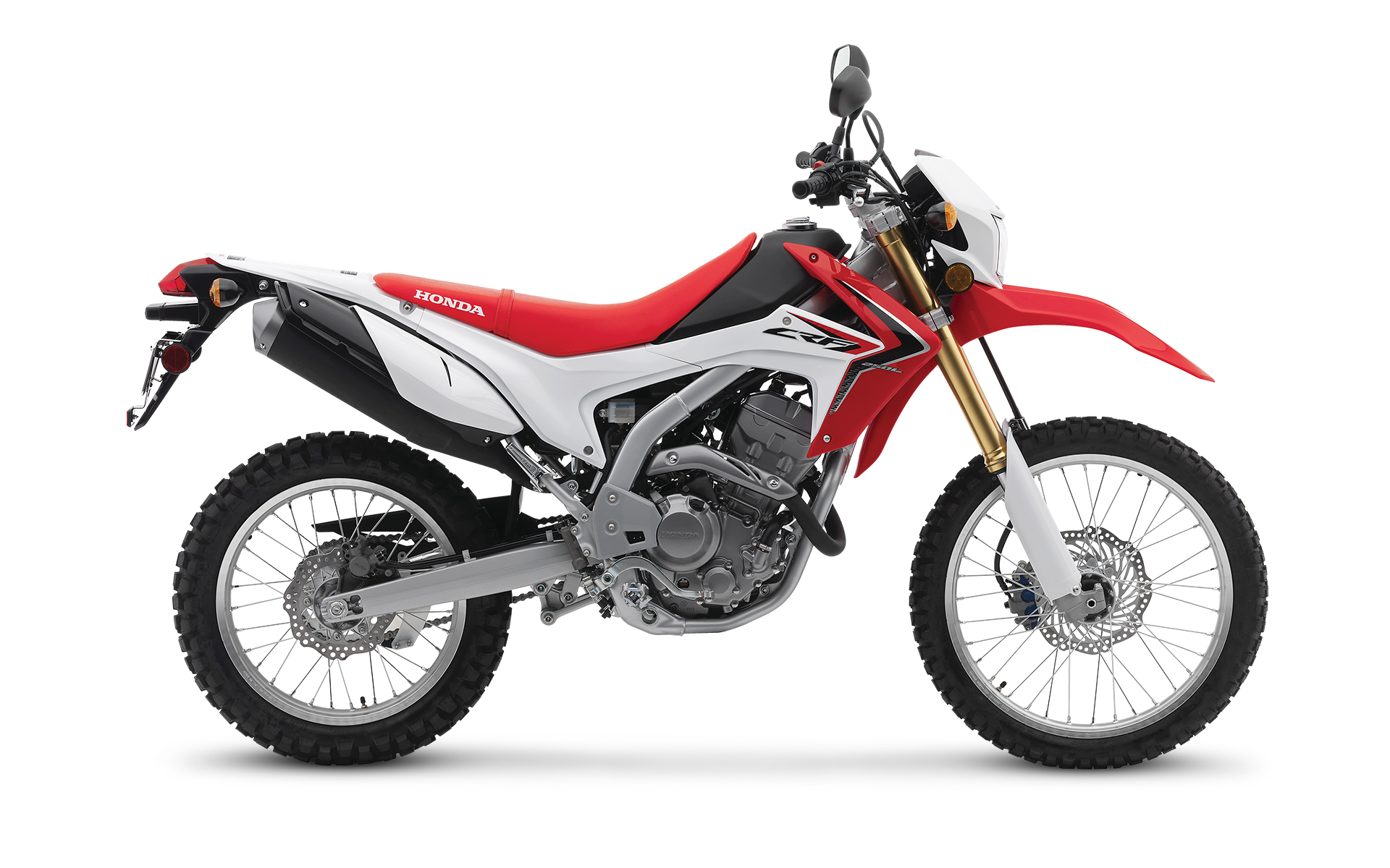 CRF250L > The Dirtbike for Thrill Seekers