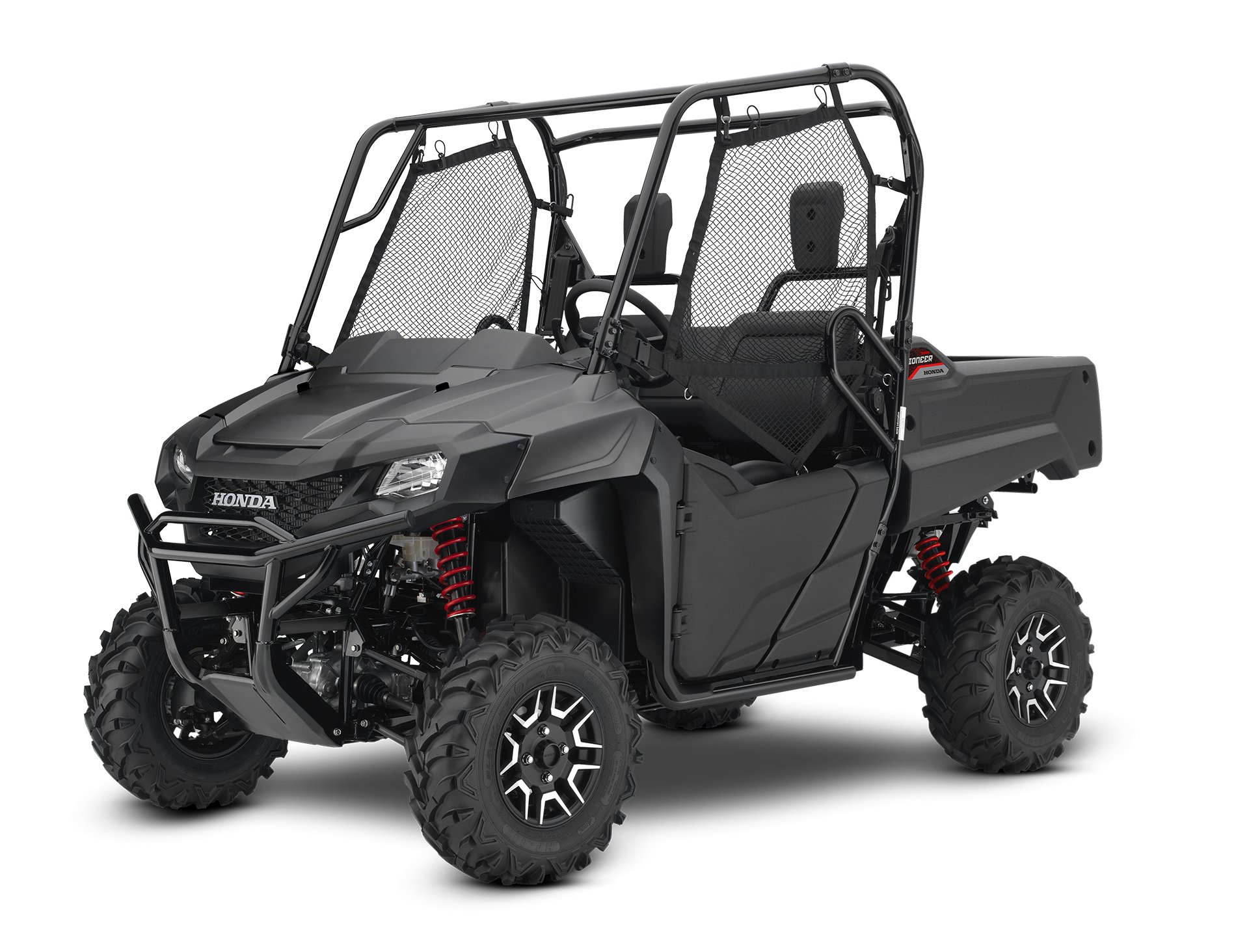 Matte Stealth Gray Deluxe Trail Package