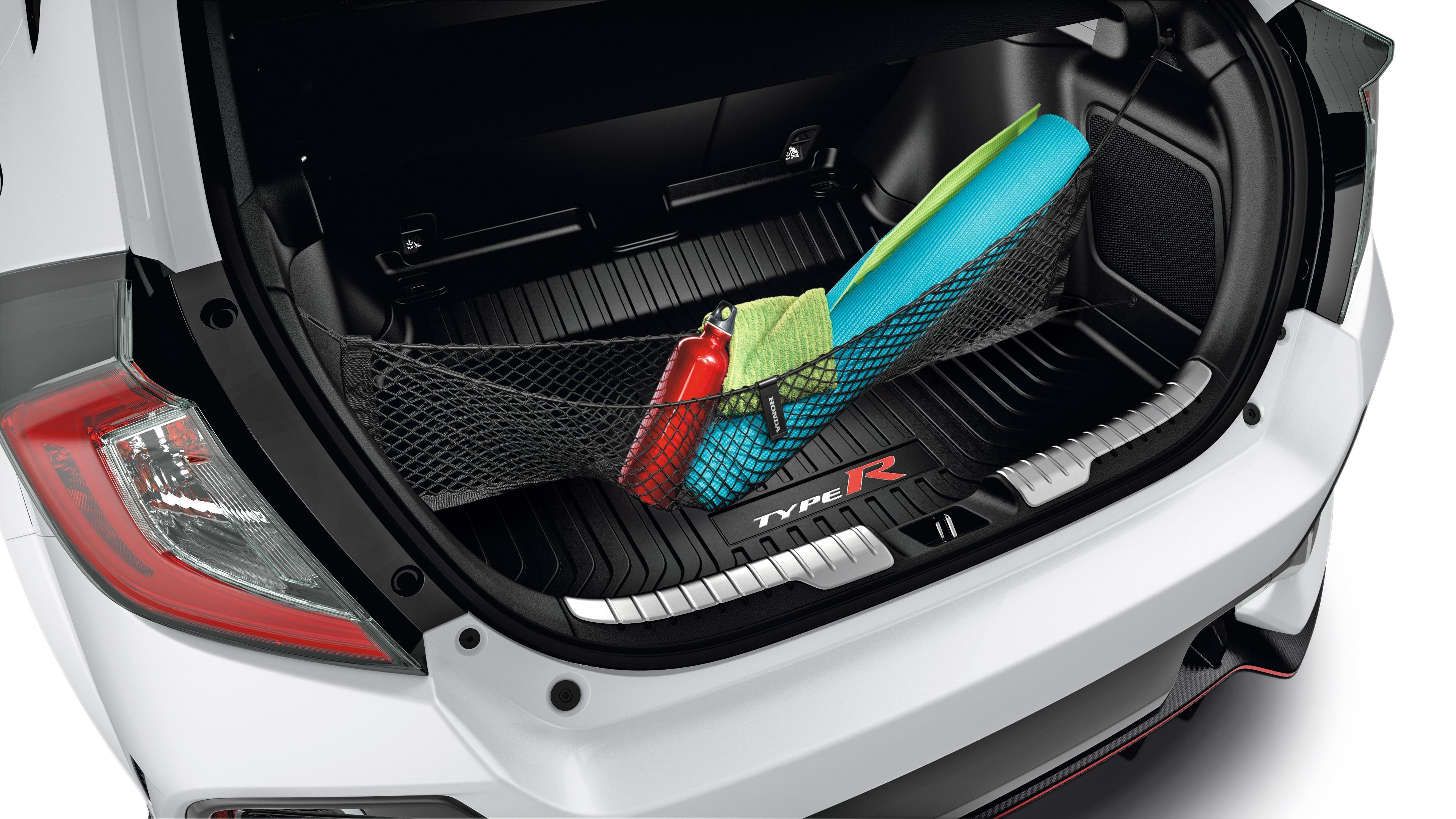 Accessories 2018 Civic Type R Honda Canada Diagram Engine Block Parts And Components Car Cargo Net