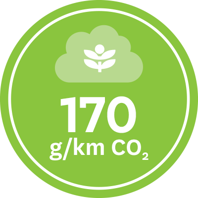 CO2 Emission Badge