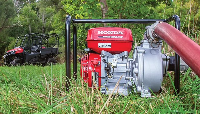Advanced high-pressure pumps are capable of displacing water at greater pressures for irrigation, spraying and commercial-use.