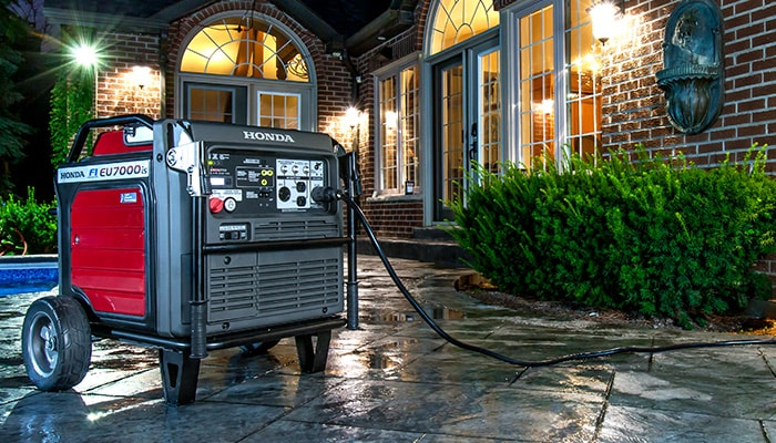 Honda home backup generators offer convenient, reliable backup power for your home, cottage, hobby farm and more, conveniently delivering stable high-quality power when and where you need it most.