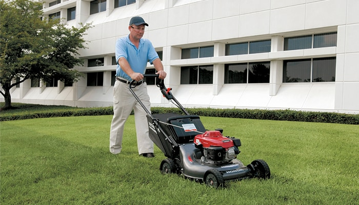 Perfect for your everyday lawn mowing needs and ideally suited for small to medium-sized yards.