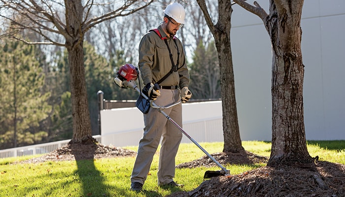 Make quick work of thick grass, heavy brush and even smaller saplings with strong low-end torque.