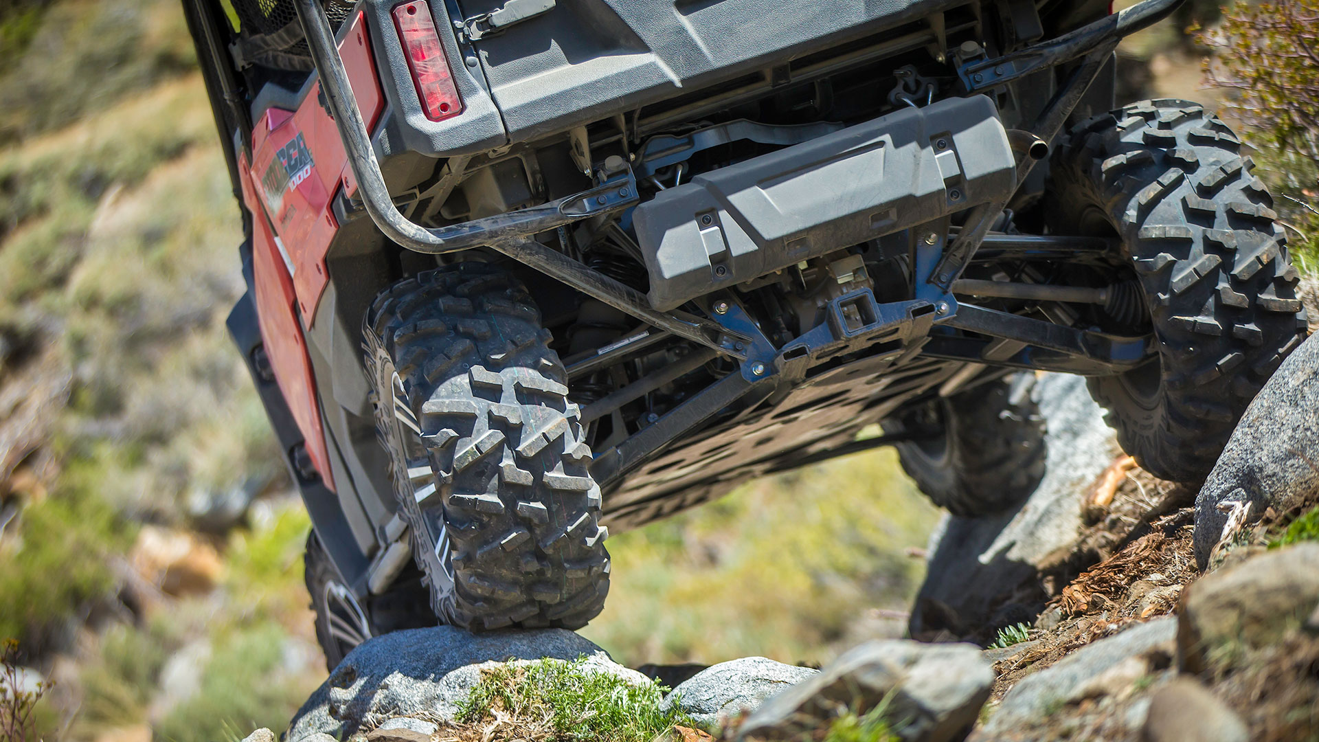 Tackle any terrain