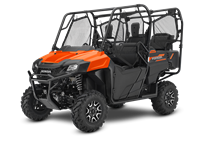 Orange Deluxe Trail Package