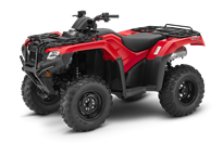Rouge patriote TRX420 DCT IRS EPS